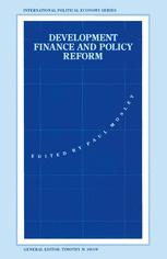 Development Finance and Policy Reform