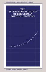 The Internationalization of the German Political Economy