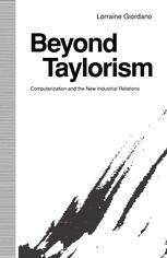 Beyond Taylorism