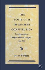 The Politics of the Ancient Constitution