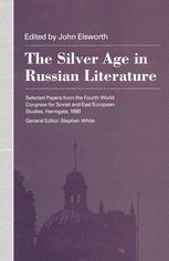 The Silver Age in Russian Literature