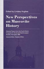 New Perspectives on Muscovite History