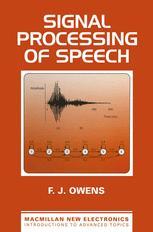 Signal Processing of Speech