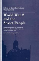 World War 2 and the Soviet People