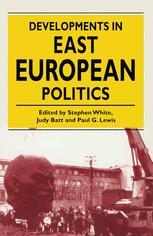Developments in East European Politics