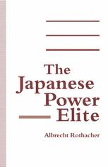 The Japanese Power Elite