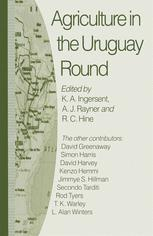 Agriculture in the Uruguay Round