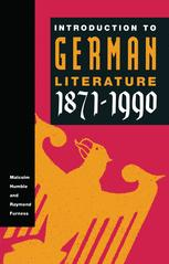 Introduction to German Literature, 1871–1990