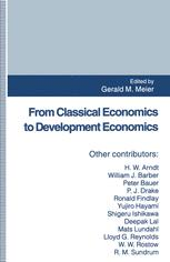 From Classical Economics to Development Economics