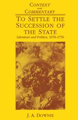 To Settle the Succession of the State