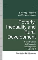 Poverty, Inequality and Rural Development