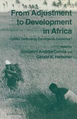 From Adjustment to Development in Africa