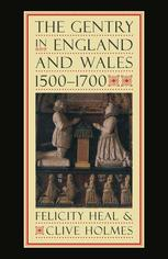 The Gentry in England and Wales, 1500–1700