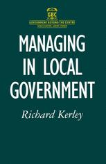 Managing in Local Government