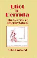 Eliot to Derrida