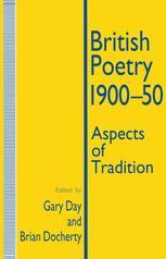 British Poetry, 1900–50