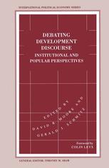 Debating Development Discourse