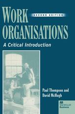Work Organisations