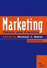 Marketing Theory and Practice