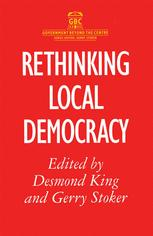 Rethinking Local Democracy