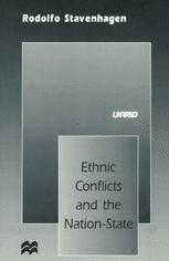 Ethnic Conflicts and the Nation-State