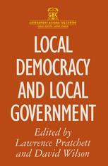 Local Democracy and Local Government