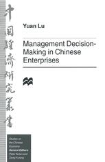 Management Decision-Making in Chinese Enterprises