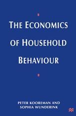 The Economics of Household Behaviour
