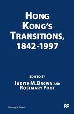 Hong Kong's Transitions, 1842–1997