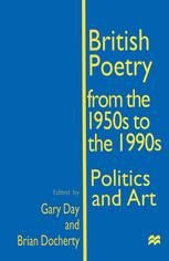 British Poetry from the 1950s to the 1990s