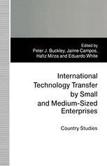 International Technology Transfer by Small and Medium-Sized Enterprises