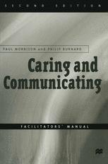 Caring and Communicating: Facilitators' Manual