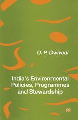 India's Environmental Policies, Programmes and Stewardship