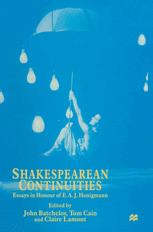 Shakespearean Continuities