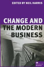 Change and the Modern Business