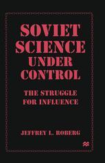 Soviet Science under Control