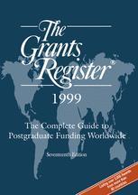 The Grants Register® 1999