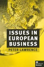 Issues in European Business