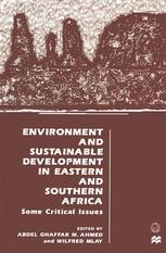 Environment and Sustainable Development in Eastern and Southern Africa