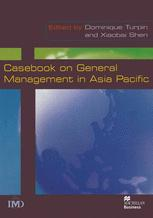Casebook on General Management in Asia Pacific