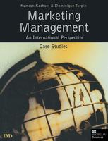 Marketing Management: An International Perspective