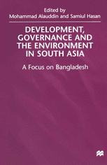 Development, Governance and the Environment in South Asia