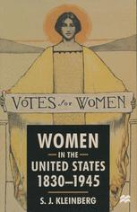 Women in the United States, 1830–1945