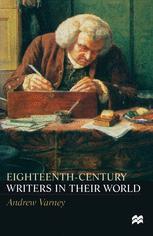 Eighteenth-Century Writers in their World