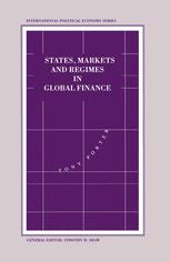 States, Markets and Regimes in Global Finance