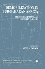 Demobilization in Sub-Saharan Africa