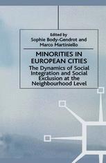 Minorities in European Cities