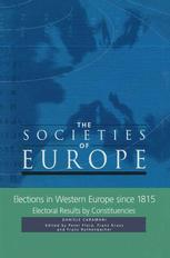 Elections in Western Europe since 1815