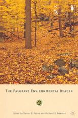 The Palgrave Environmental Reader