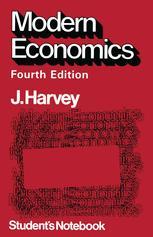 Modern Economics Student's Notebook